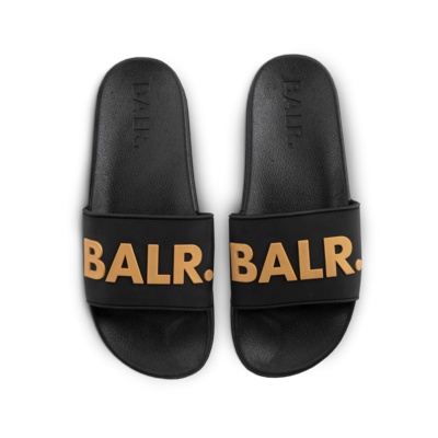 BALR. Slider Black/Gold