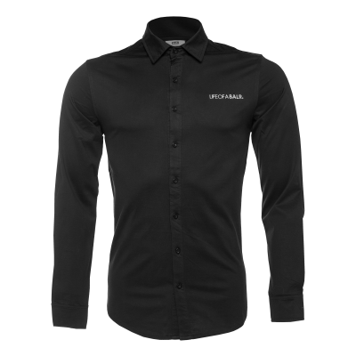 LOAB Formal Shirt Zwart