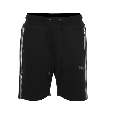 Q-Series Striped Shorts Black