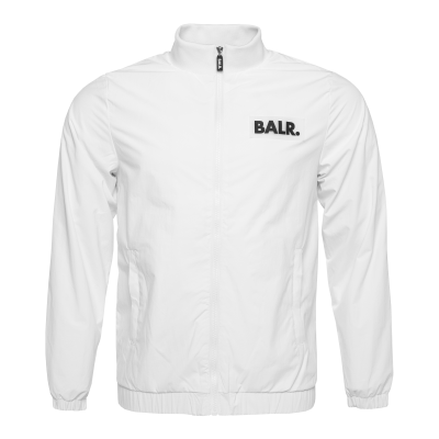 Rubber Logo Jacket White