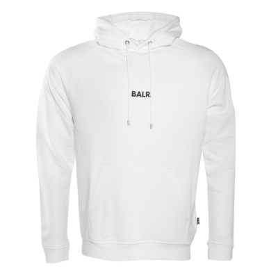 Front Pouch Hoodie White