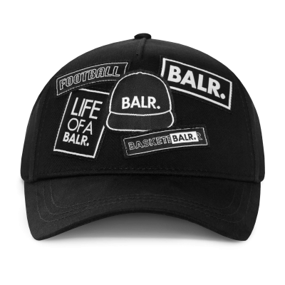 BALR. Badge Cap Black