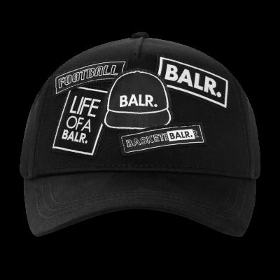 BALR. Badge Cap Zwart