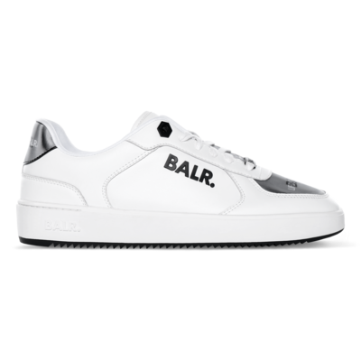 BALR. Royal Mid Sneaker Wit 3D