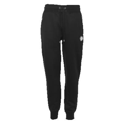 Q-Series Metal Hexagon Badge Sweatpants Black