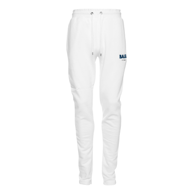Embroidered LOAB Sweatpants White