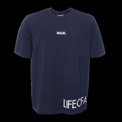 LOAB T-Shirt Marineblauw