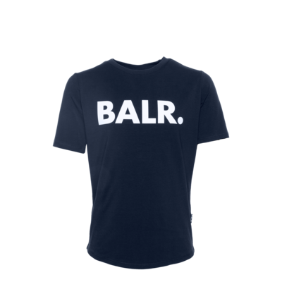 Brand T-Shirt Kids Marineblau