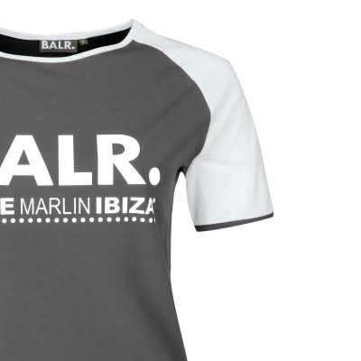 x BMI Raglan T-Shirt Grey BALR. Professional Online Sale Excellent Clearance Good Selling Prices For Sale Free Shipping For Cheap LCDqb
