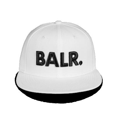 Brand Cotton Cap White