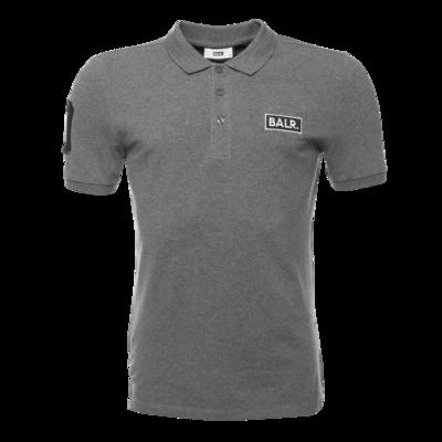 BALR. Club 10 Polo Shirt Grey