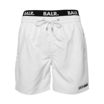 LOAB Badge Swim Shorts Wit