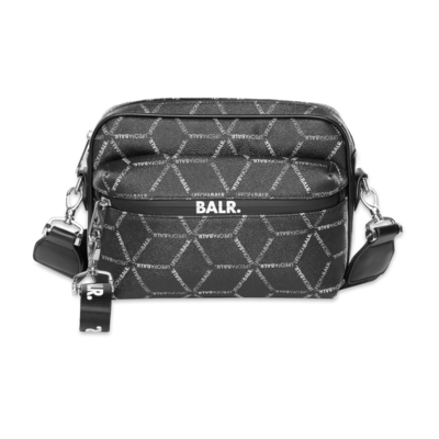 LOAB All-Over Print Shoulder Bag Schwarz