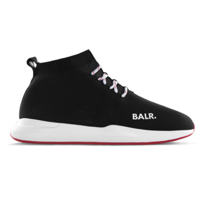 EE Premium Sock Sneakers Noir/Rouge