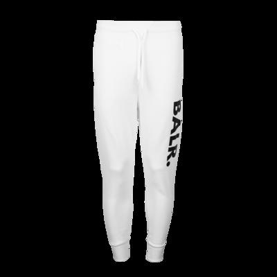 BALR. Horizontal Classic Sweat Pants White
