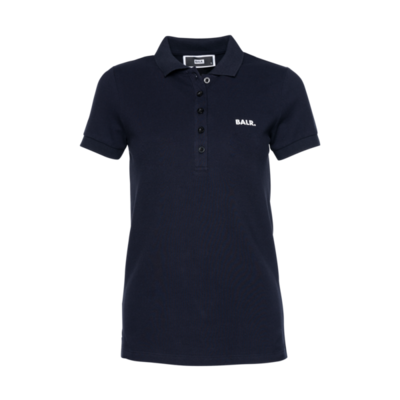 Brand Polo Shirt Women Navy
