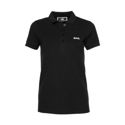 Brand Polo Shirt Women Black