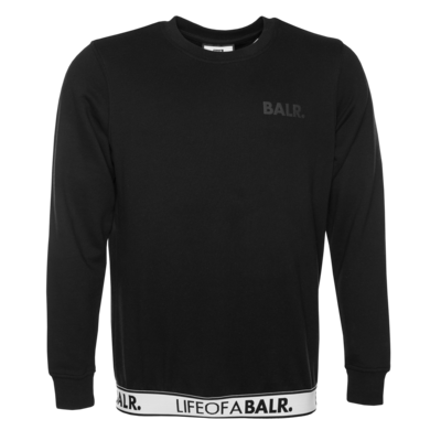 LOAB Lounge Straight Crew Neck Sweater Black