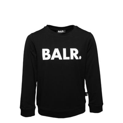 Brand T-Shirt Long Sleeve Kids Black