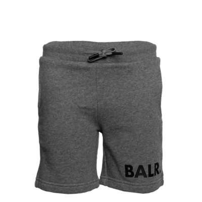 Brand Sweat Shorts Kids Grey