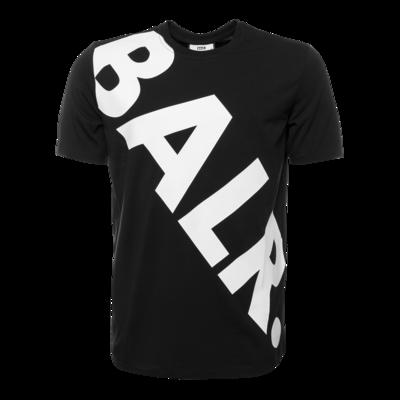 Tilted Logo T-Shirt Zwart