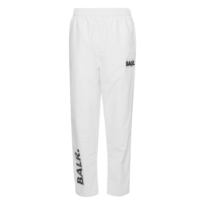 Rubber Logo Trackpants Wit