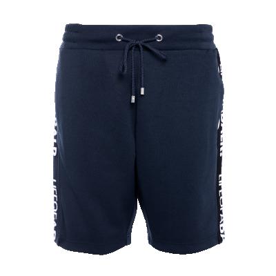 LOAB Webbing-Trimmed Shorts Marineblauw