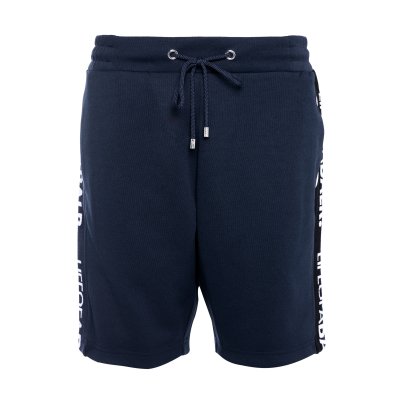 LOAB Webbing-Trimmed Shorts Navy