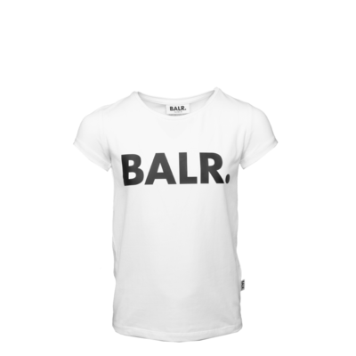 Brand Logo T-Shirt Girls White