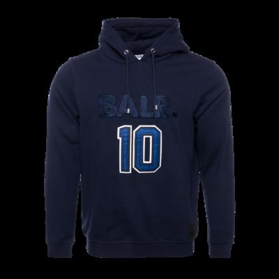 BALR. 10 Varsity Hoodie Marineblauw
