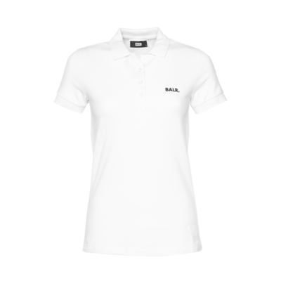 Brand Polo Shirt Women White