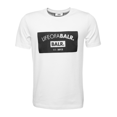 Black Label - LIFEOFABALR. Club T-Shirt White