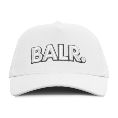 BALR. Big Logo Cap Wit
