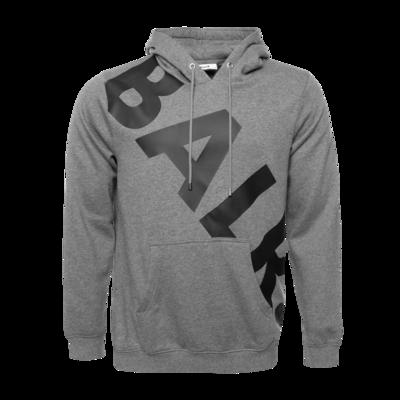 Tilted Logo Hoodie Grey