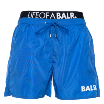 BALR. Lounge Swim Shorts Kobaltblauw