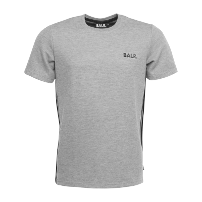 Q-Series Striped T-Shirt Grey