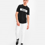 LOAB Boxed Logo T-Shirt Black