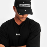 LIFEOFABALR. Paint Splatter Classic Cap Black