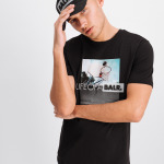 Black Label - Goal T-Shirt Zwart