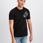 Black Label - BALR. Badge T-Shirt Black