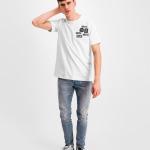 Black Label - BALR. Badge T-Shirt White