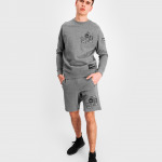 BALR. Badge Shorts Grijs