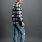 Checked Shirt Black