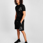 BALR. Badge Shorts Zwart