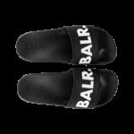 BALR. Slipper Schwarz/Weiß