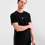 Q-Series Short Sleeve Sweater Zwart