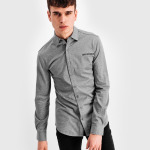 LOAB Formal Shirt Grijs