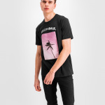 Black Label - Palm Tree T-Shirt Zwart