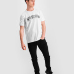 Black Label - LOAB Fringe T-Shirt Wit