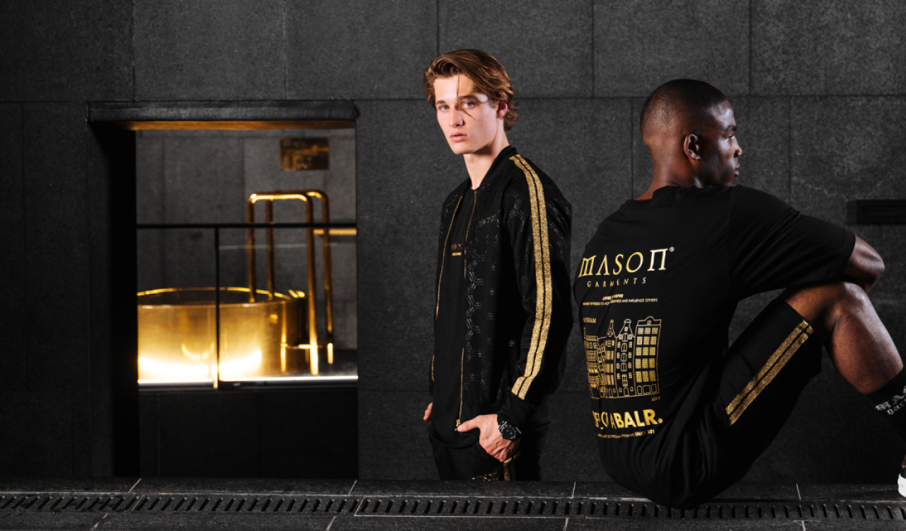 Limited capsule collection BALR. and Mason Garments is now available